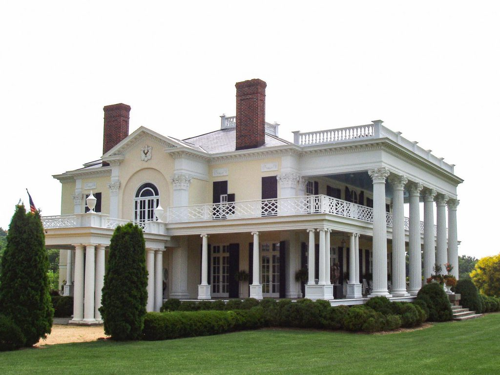 View of Frederick Hart Residence