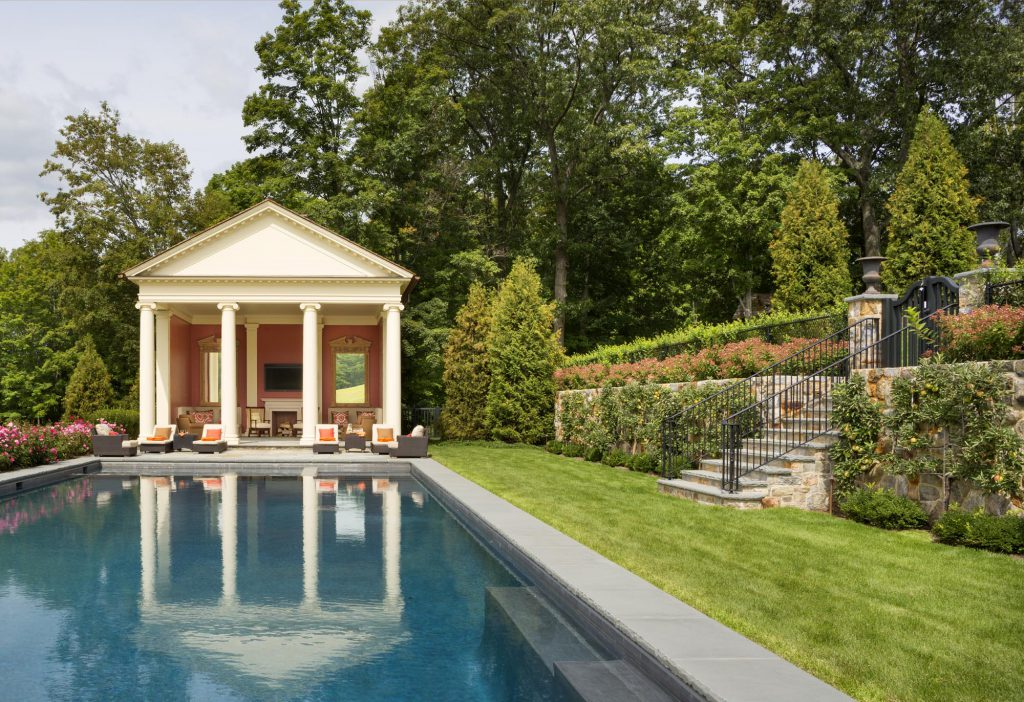 View of Hudson Valley Pool House