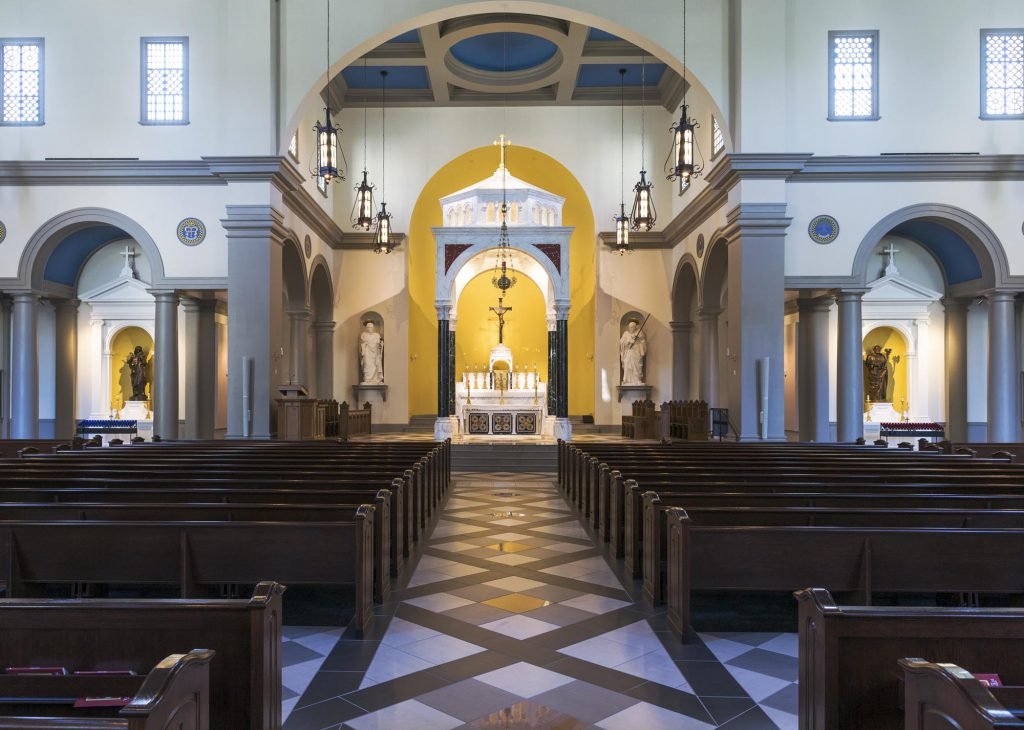 View of Saint Mary Help of Christians